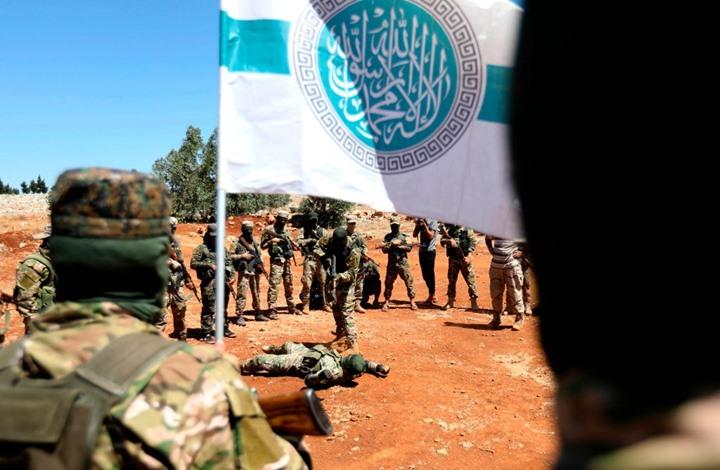 """صورة مصادر خاصة: خلايا تنظيم """"الدولة"""" تهاجم مواقع """"تحرير الشام"""" في إدلب"""