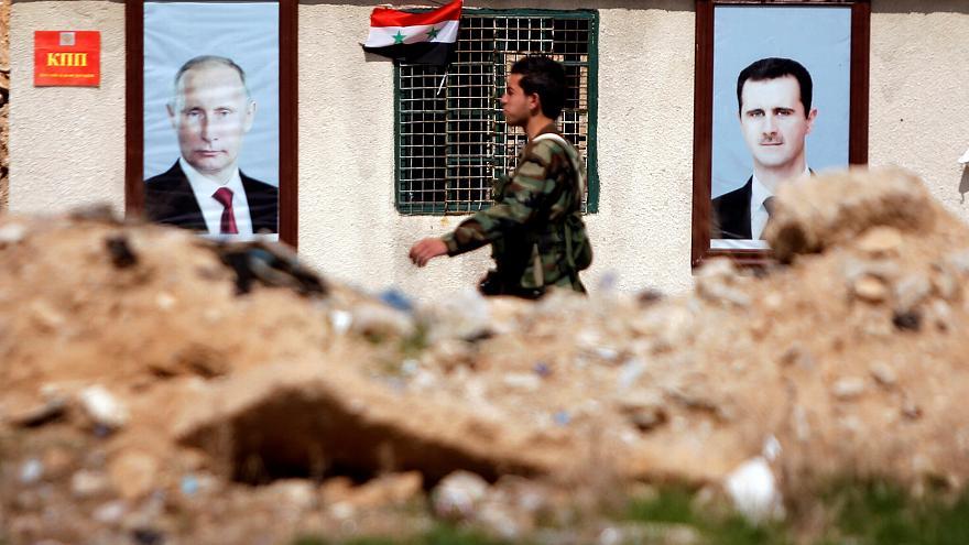 صورة إثبات دولي لهجمات الأسد وروسيا الكيميائية على غوطة دمشق