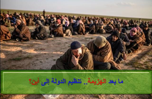 صورة ما بعد الهزيمة.. تنظيم الدولة إلى أين؟