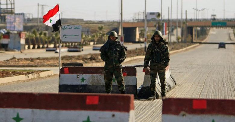 صورة لأول مرة قوات الأسد تقصف درعا