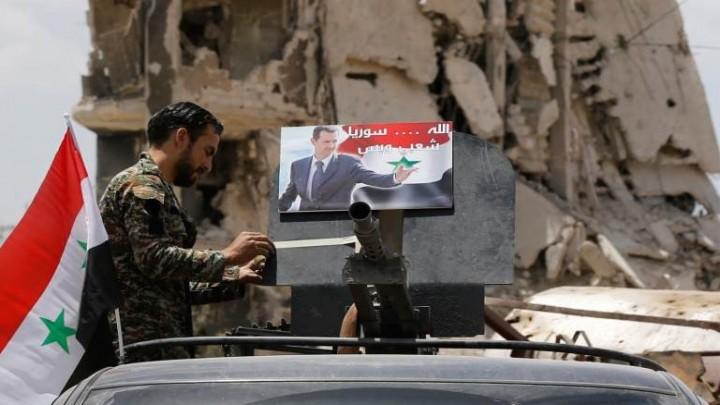 صورة مخابرات الأسد تعتقل زوجة إعلامي مهجر..وتشترط استسلامه لها مقابل الإفراج عنها