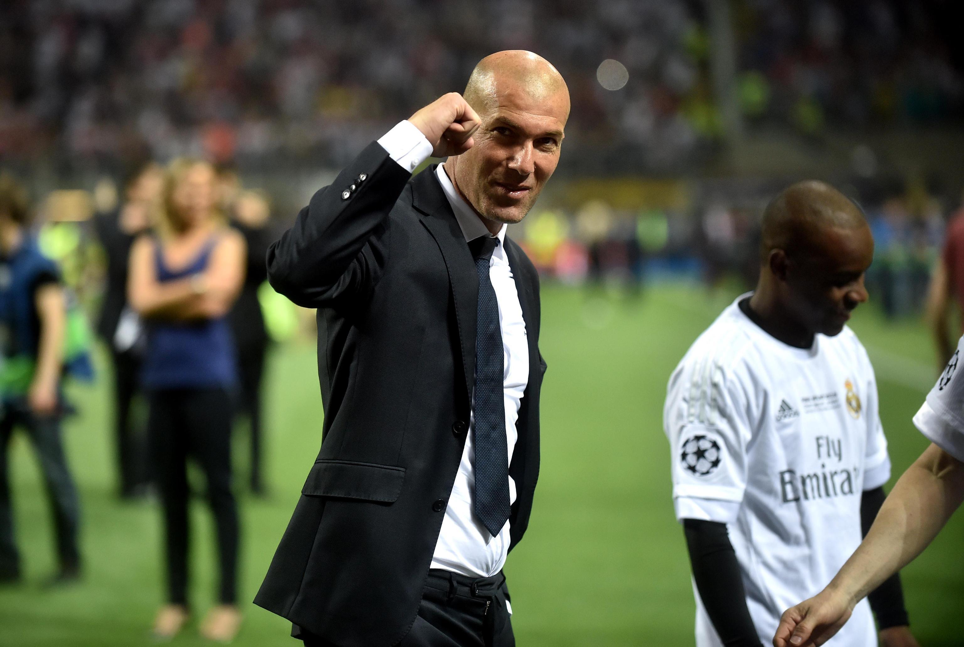 صورة رسميا… عودة زيدان لتدريب ريال مدريد