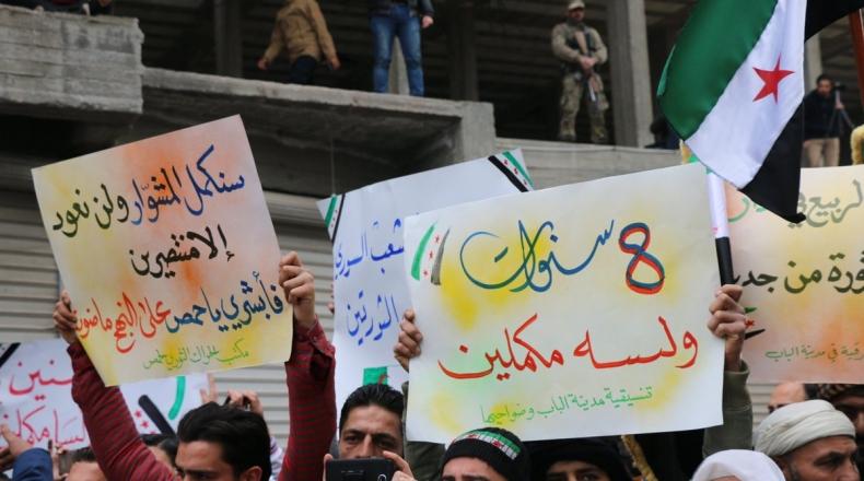 صورة ثورة سوريا تدخلها عامها التاسع..من مطالب شعبية إلى صراعات دولية