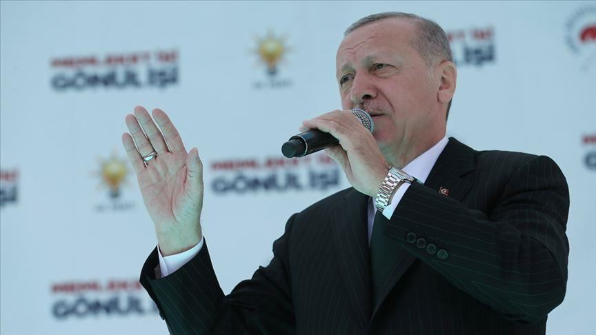 صورة أردوغان لسفاح المسجدين: إذا لم تحاسبك بلادك فسوف نحاسبك نحن