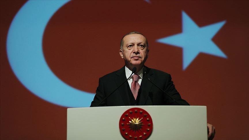 """صورة أردوغان: نحن أحفاد أبطال معركة """"جناق قلعة"""""""