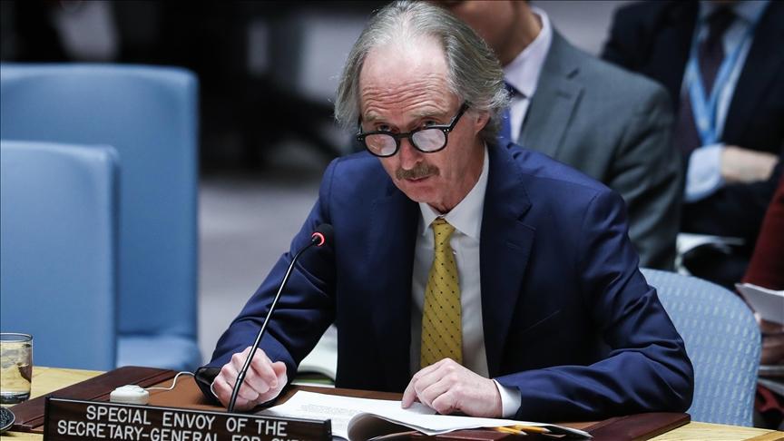 """صورة بيدرسون: """"قسد"""" ليست جزءا من العملية السياسية السورية"""