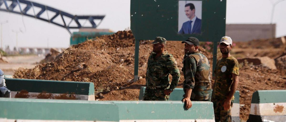 صورة تصفية قيادي بحزب الله وإصابة آخر في درعا