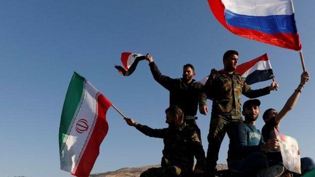 صورة روسيا تحت التهديد في سوريا