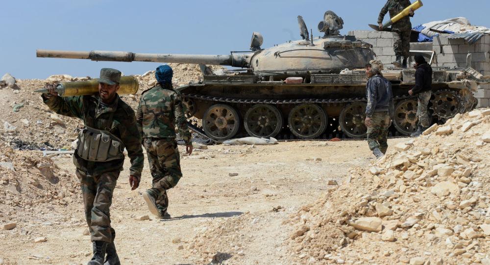 صورة لأول مرة.. نسف سيارة عسكرية للنظام السوري في درعا