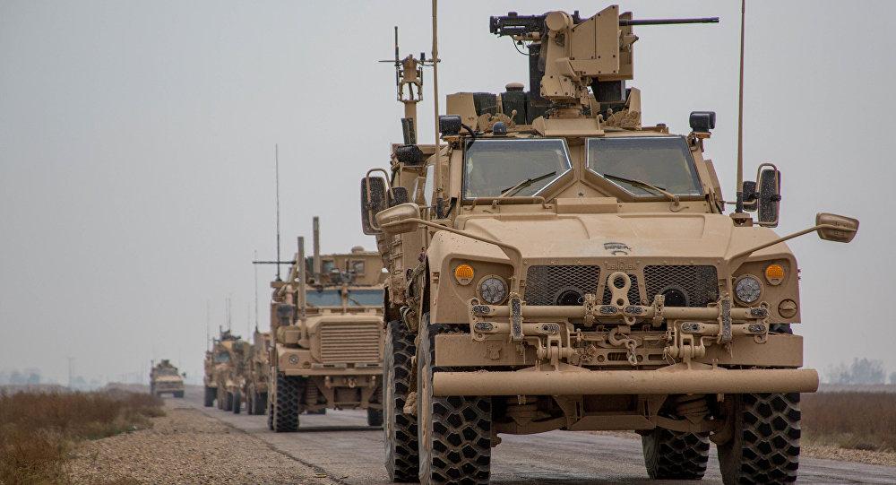 """صورة التحالف الدولي يغذي """"قسد"""" بـ """"شحنات أسلحة جديدة"""""""