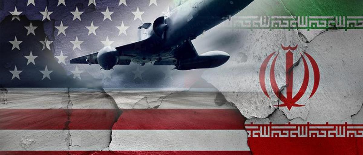 صورة حسن روحاني يهدد أمريكا