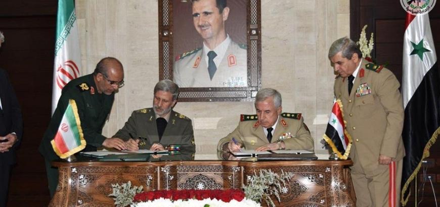 صورة محافظة إيرانية أرسلت 35 ألف مقاتل لسوريا