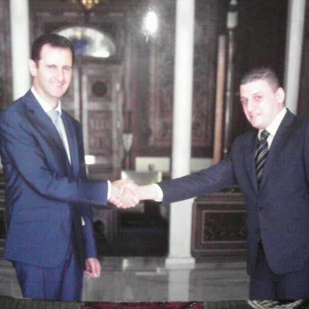 """صورة ضابط مخابرات مقرب من الأسد يتوعد محامية بـ """"القتل"""" لمحاولتها ايقاف جرائمه!"""