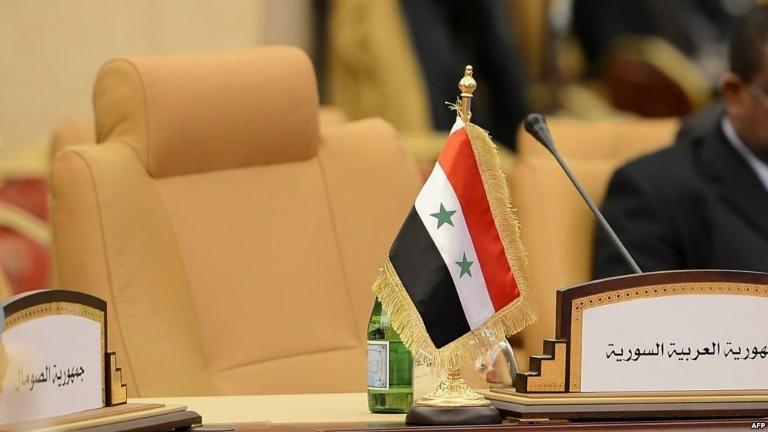 صورة تصريحات هامة للجامعة العربية حول مصير عودة الأسد إليها