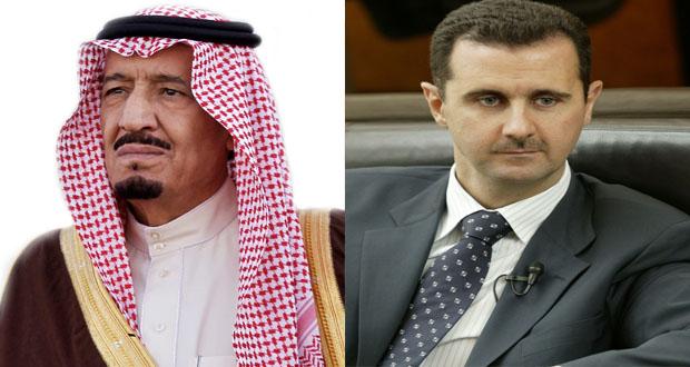 صورة رسائل إيجابية من القيادة السعودية للأسد