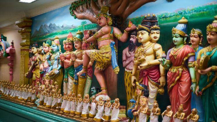 صورة وضع حجر الأساس لأول معبد هندوسي في الإمارات- شاهد