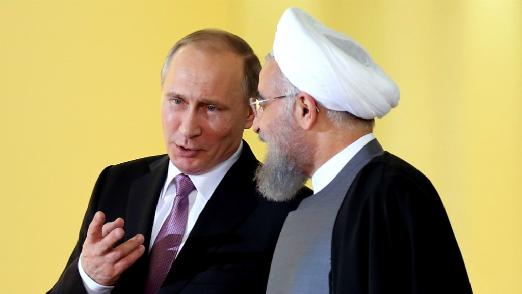 صورة روسيا هي من سيقسم ظهر إيران في سوريا