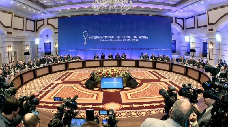 صورة الجولة 12 من مفاوضات أستانة.. تعثر اللجنة الدستورية وخلافات بين الضامنين