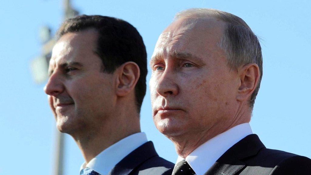 """صورة روسيا تكتب نهاية مأساوية لـ """"بشار الأسد"""""""