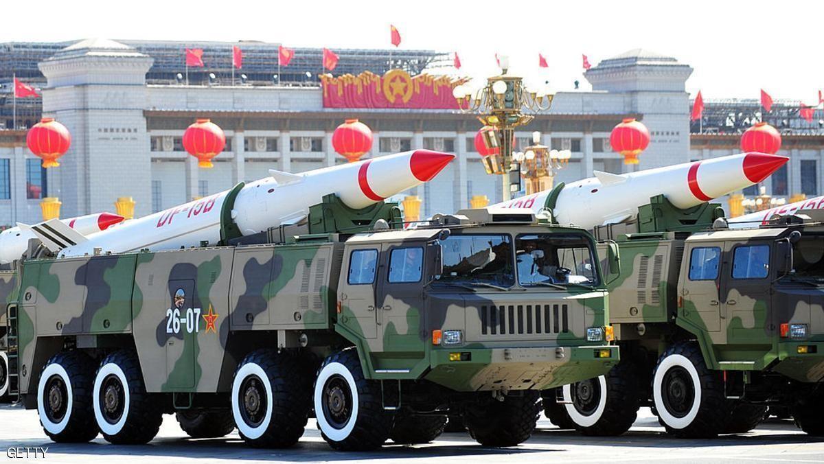 """صورة صواريخ الصين قادرة على """"نسف"""" أمريكا بدقائق! شاهد"""