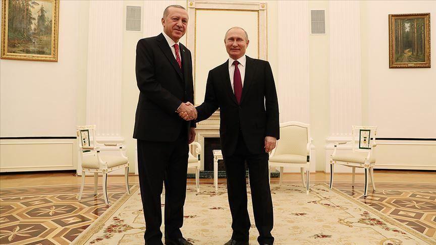 صورة القضية السورية تتصدر أجندة زيارة أردوغان لروسيا