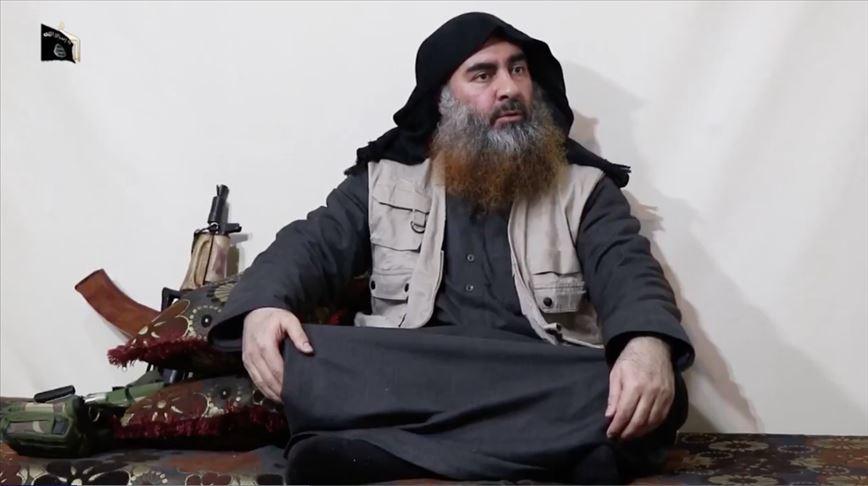 صورة أول ظهور للبغدادي منذ عام 2014