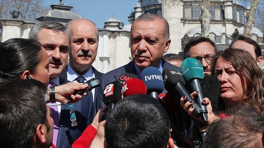 صورة رسالة حادة من أردوغان لأمريكا وأوروبا