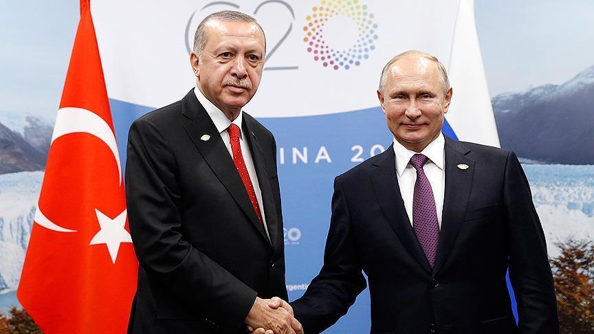 صورة هذا ما قاله أردوغان أمام بوتين عن الملف سوريا وإدلب