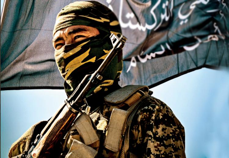 صورة تنظيم جهادي يهدد روسيا بأفغانستان جديدة في سوريا