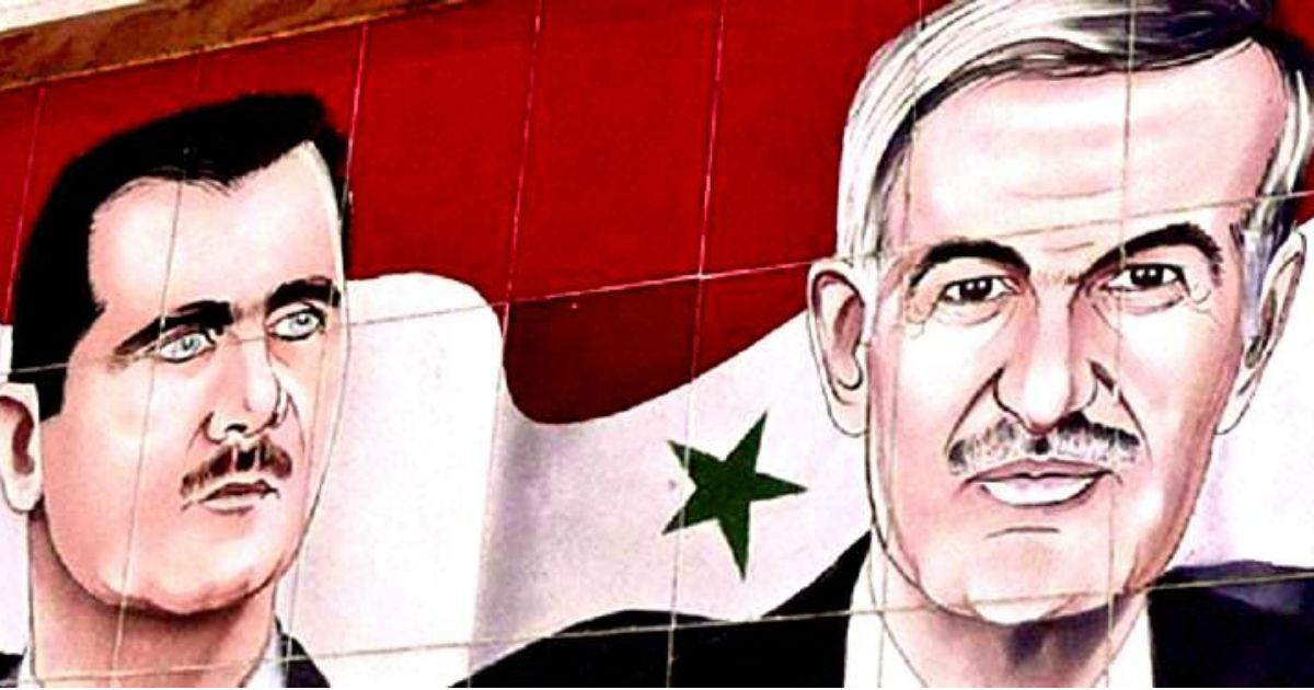 صورة حافظ الأسد لم يستطع توريث بشار كل شيء