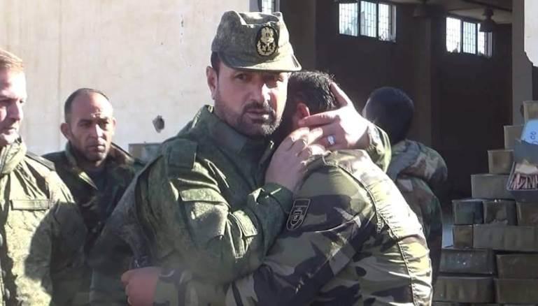 صورة صورة.. الجيش الحر يأسر قائد غرفة عمليات الميليشيات الروسية وسط سوريا