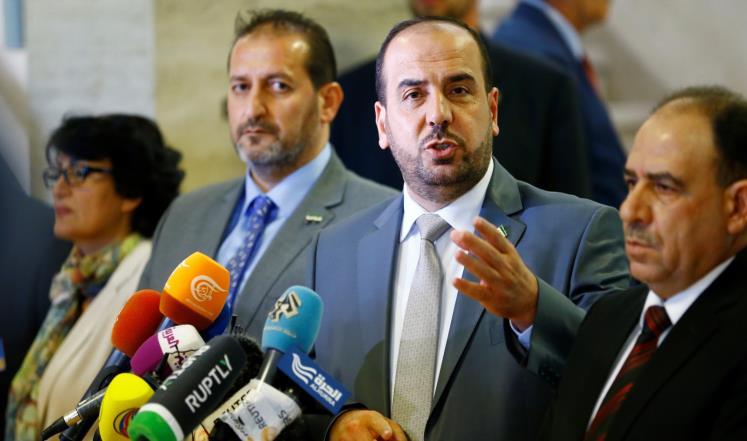 صورة نصر الحريري: خسارة إدلب تنسف العملية السياسية قبل أن تبدأ