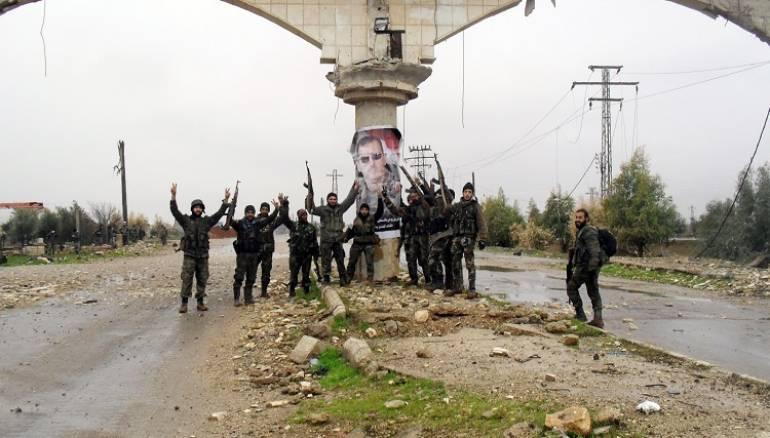صورة النظام يحاصر مدينة الصنمين بدرعا لليوم الثالث على التوالي