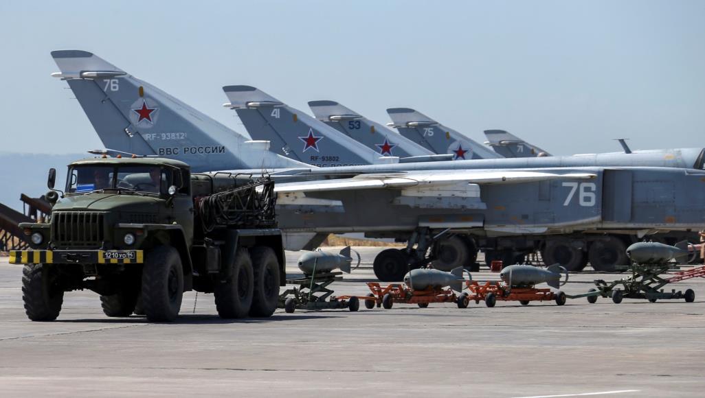 """صورة سوريا.. طائرات مسيرة تهاجم """"حميميم الروسية"""""""