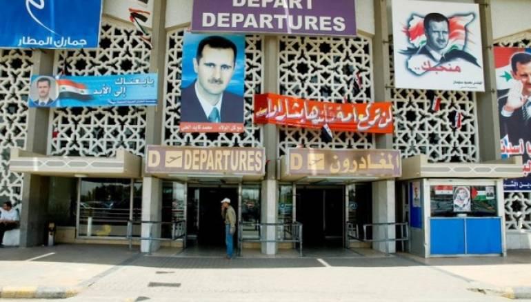 """صورة النظام السوري: ننوي تأجير مطار دمشق الدولي لـ """"روسيا"""""""