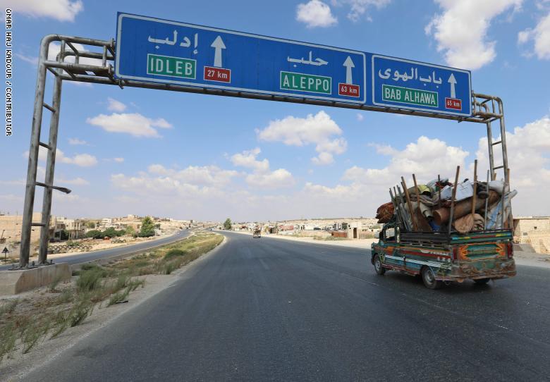 صورة إدلب بين نيران القصف وترسيم الحدود