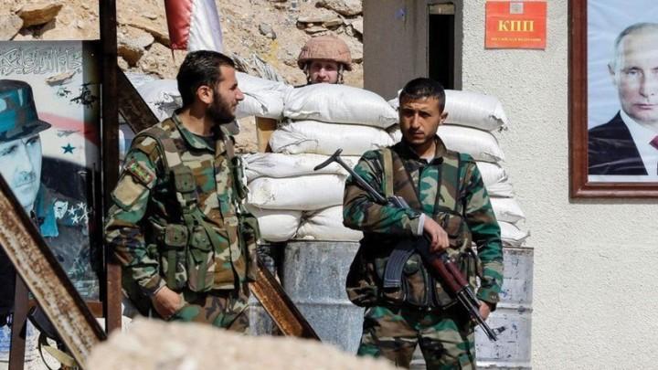 """صورة """"ثورة ملونة"""" على الطراز الروسي ضد الأسد!"""