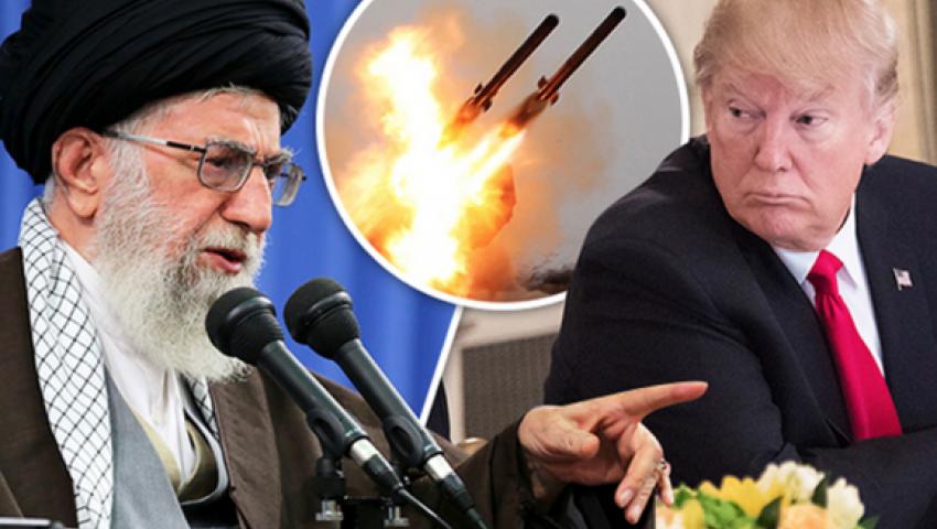 """صورة غراهام لـ """"ترامب"""":  أغرق البحرية الإيرانية.. اجعل طهران تتألم"""