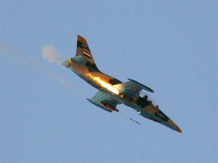 صورة ثالث خسارة عسكرية جوية للأسد خلال شهر