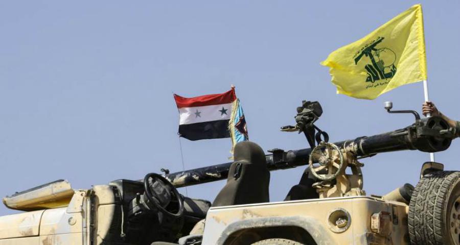 صورة مفاوضات بين حزب الله وتنظيم الدولة بريف حمص