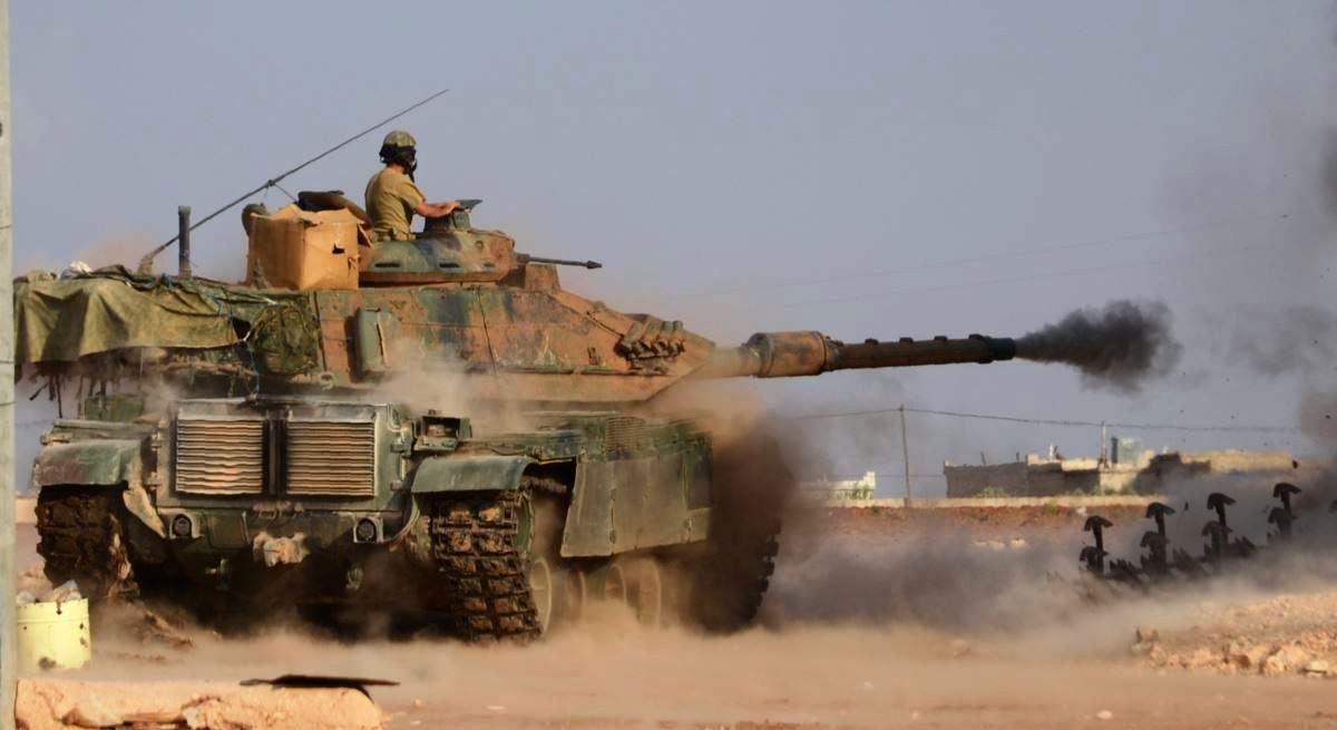 صورة سوريا.. الجيش التركي يقصف قوات الأسد