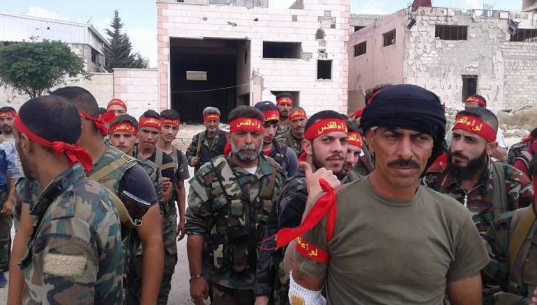 صورة بالأسماء.. ميليشيا فلسطينية تنعي 20 عنصراً بمعارك حماة قتلوا دفاعاً عن الأسد- شاهد