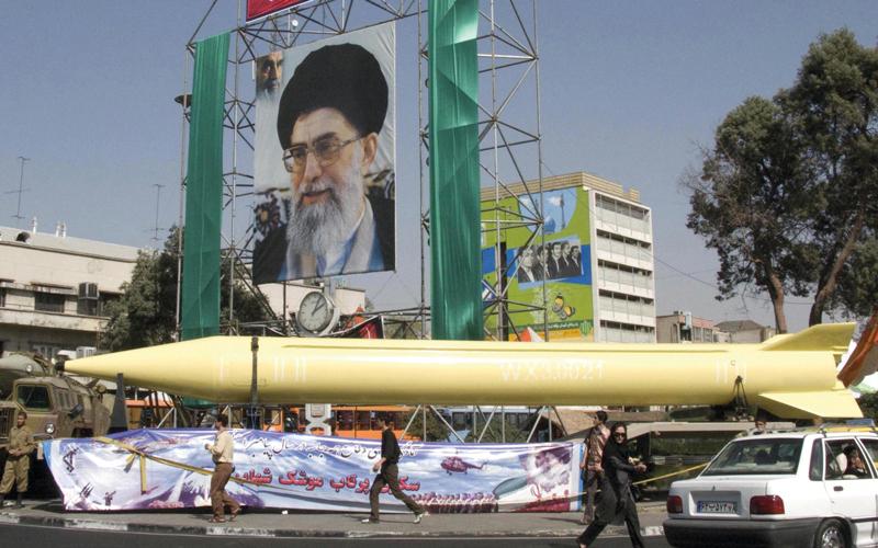 صورة إيران: حدودنا من اليمن إلى إفريقيا