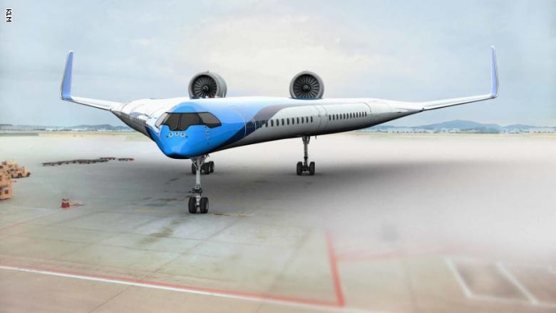 صورة بالصور.. وداعا للطائرات التقليدية.. طائرة جديدة ستنقل الركاب على أجنحتها- شاهد