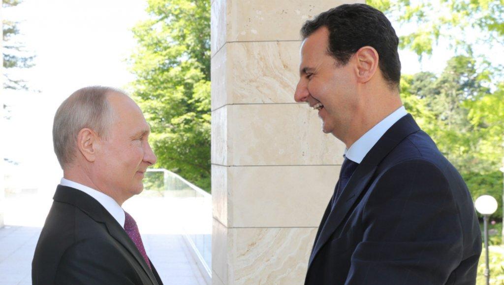 """صورة ماذا قال بوتين عن مصير """"الأسد""""؟"""