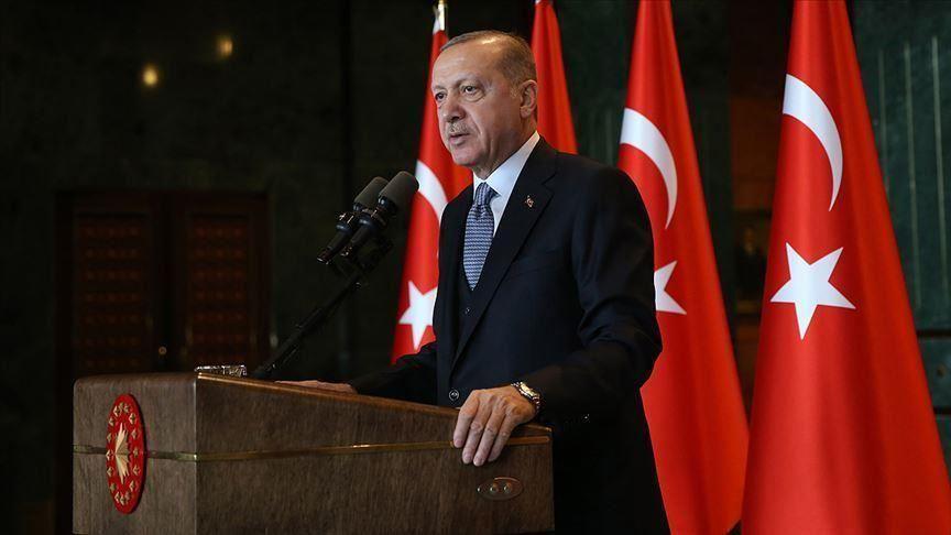 صورة أردوغان: سنصلّي التراويح مع 313 ألف شخص بإسطنبول السبت