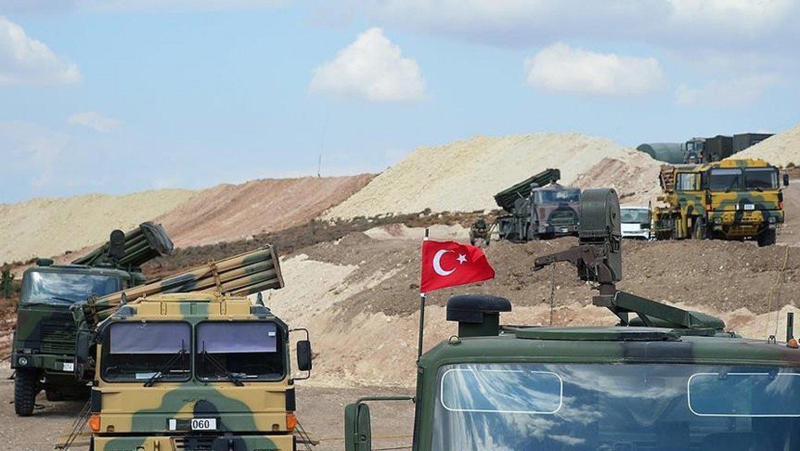 صورة جيش الأسد يقصف نقطة مراقبة تركية بـ 35 قذيفة