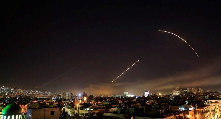صورة إيران بمرمى الصواريخ الإسرائيلية في سوريا