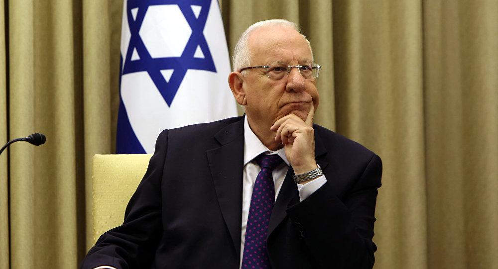 """صورة رئيس إسرائيل: نحن فخورون من قيادة """"السيسي"""" لـ """"مصر"""""""