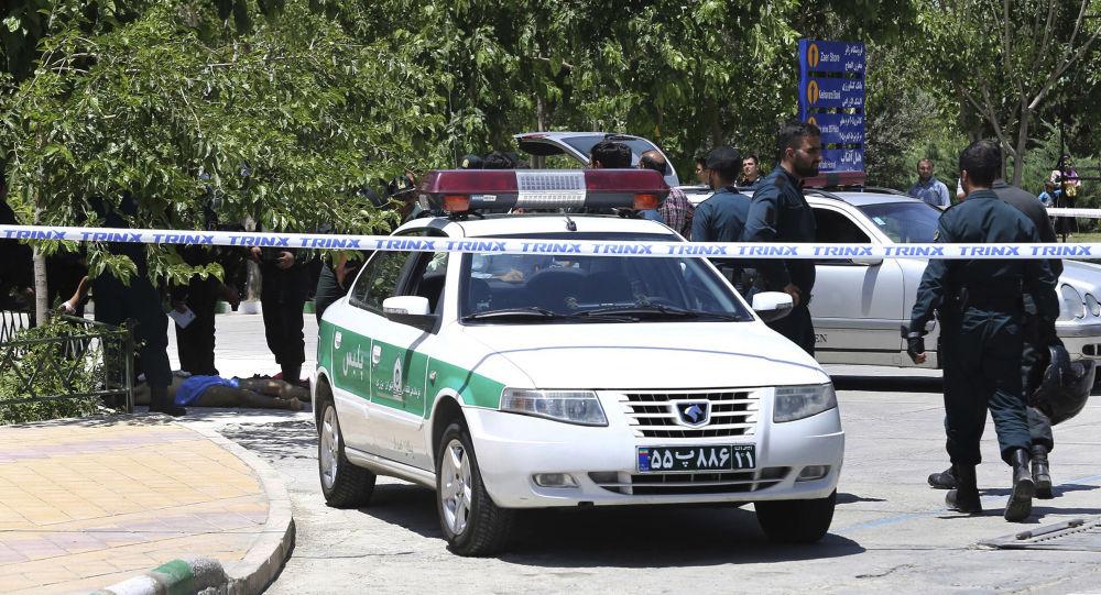 صورة الحرس الثوري الإيراني يتعرض لهجوم داخل إيران
